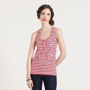 Kate Spade NY | Striped bow tank top XS